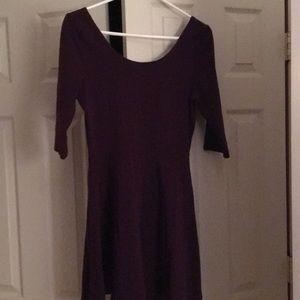 Express Three quarter sleeve Mini dress